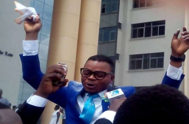 Bishop Obinim Finally Released, Rushed To The Hospital After Leaving Police Custody (See Video)