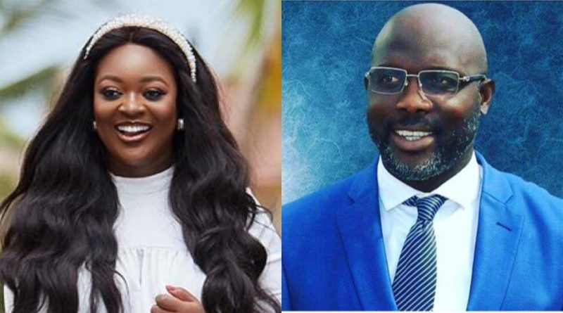Actress Jackie Appiah Pregnant For Liberia President