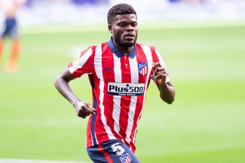 Arsenal Signs Thomas Partey From Atlético Madrid for £250,000