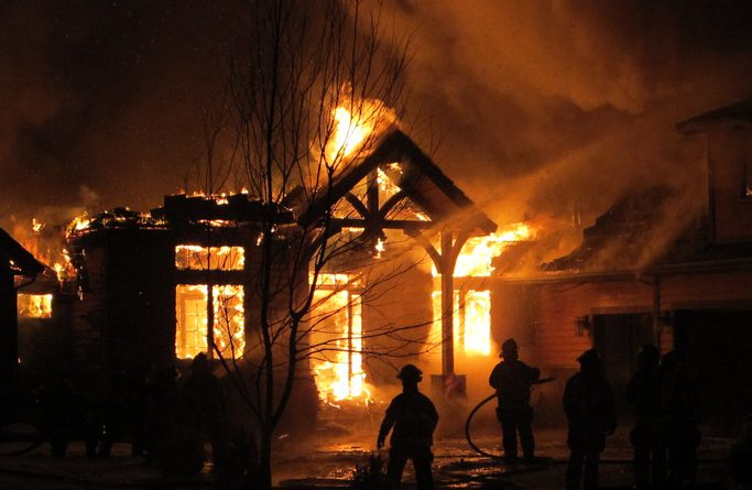 4 Kids Burnt To Death After Their Mum Left Them At Home To Attend Watch Night Service At Church