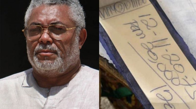 Two Sure Lotto Numbers Drop Following Rawlings' Death. See The Lucky Numbers