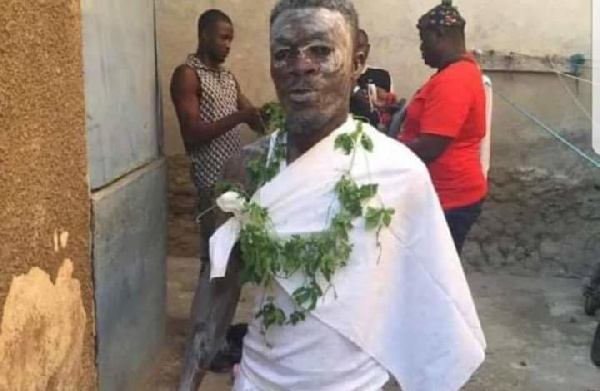 Kotoko Player Quits Football To Become Full-Time Fetish Priest (Photos)