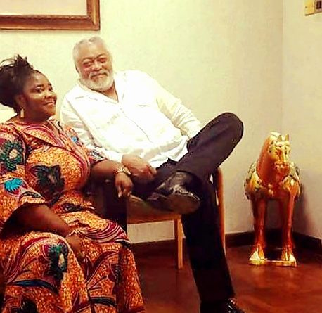 Meet Kate Yeboah, Another Alleged Secret Daugther Of Rawlings (See Photos)