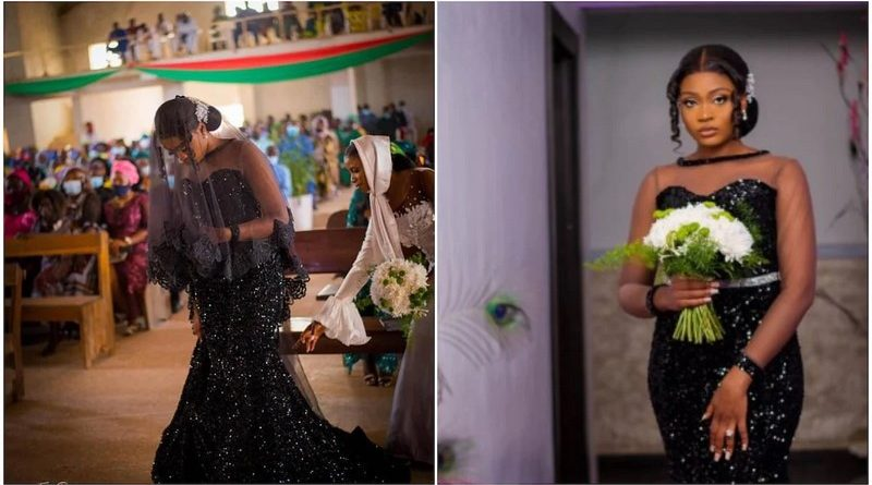 Lady Set On Fire After Wearing Black Gown To Her Wedding Ceremony (PHOTOs)
