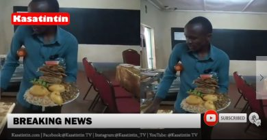 Man Storms Wedding Reception And Eats All The Food Meant For Guests (VIDEO)