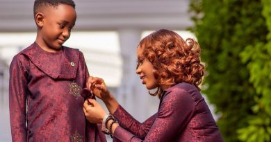 Akuapem Poloo Cries Before Her Son On Father's Day–Photo