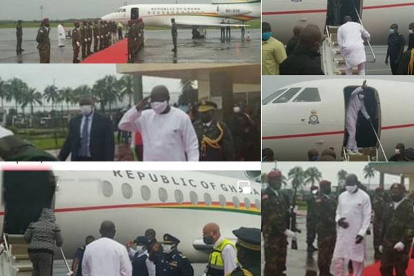 Ghana's Presidential Jet In The Hands Of Liberia President–Photos Shock Ghanaians